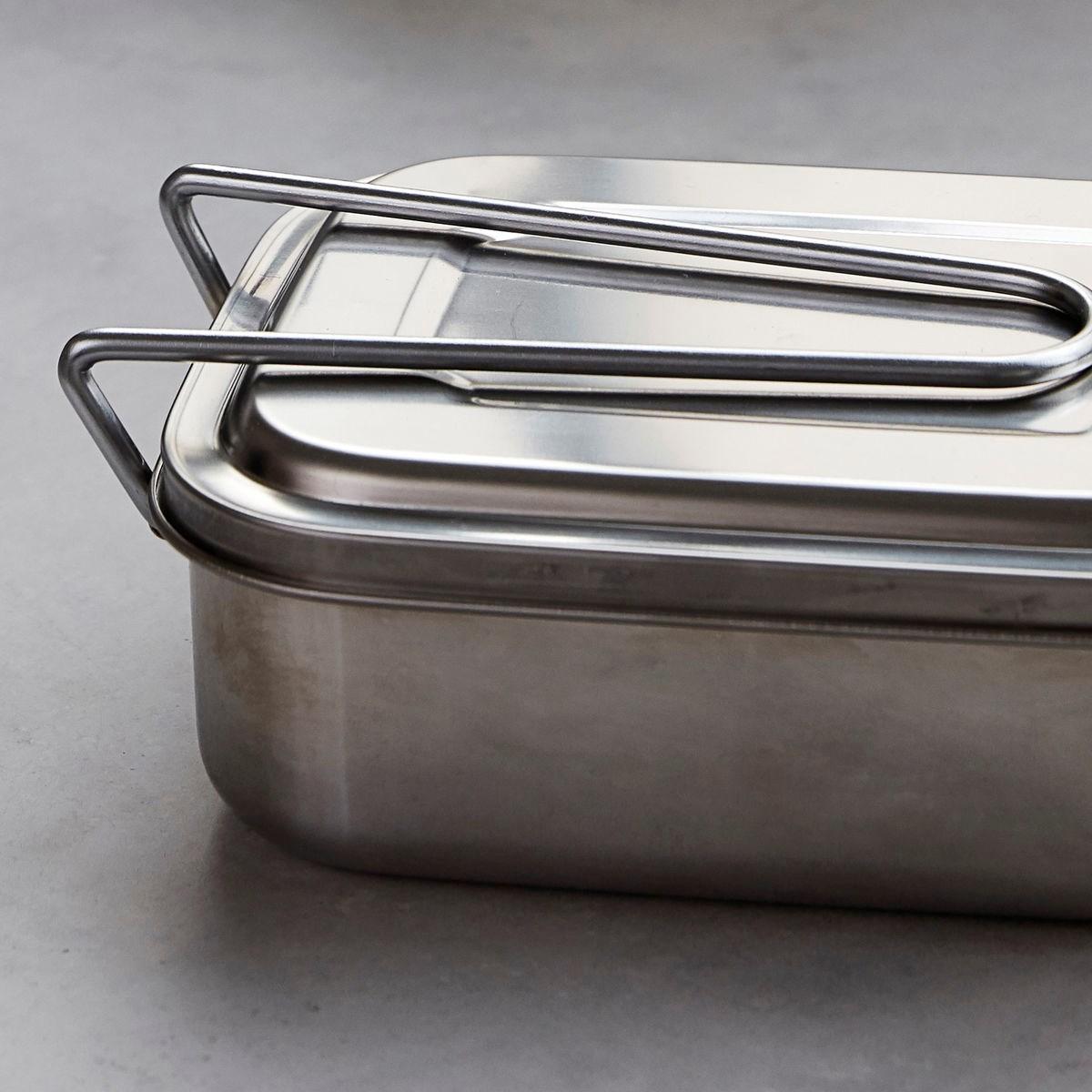 Svačinový/ obědový box BOXIT stříbrný_2