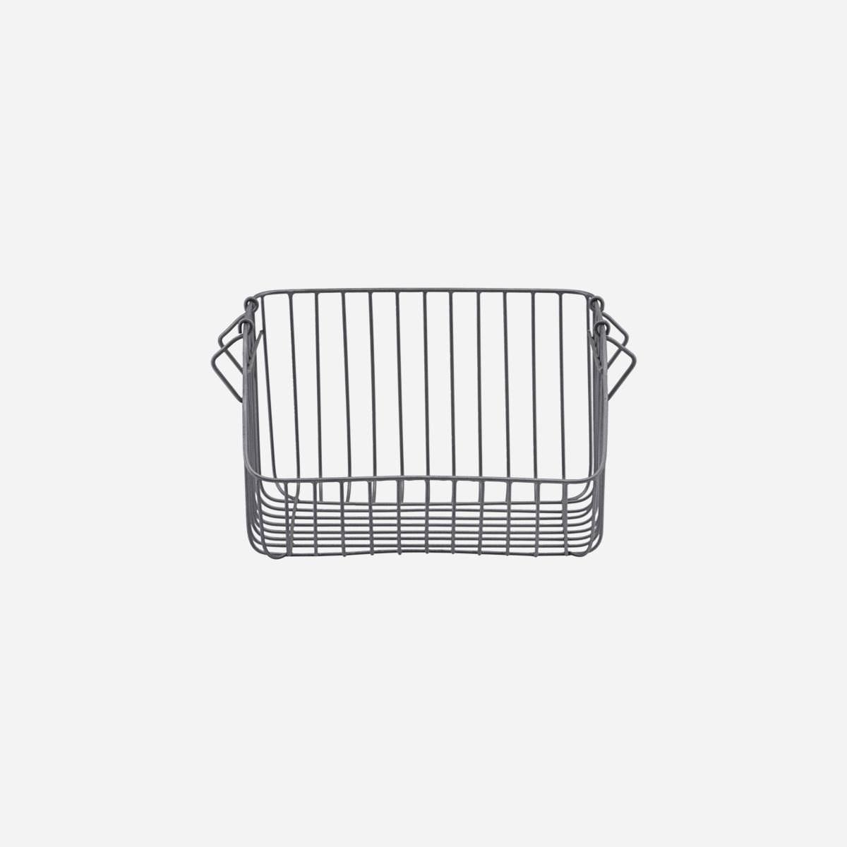 Obrázek z Drátěný koš NAGPUR 32x24 cm šedý