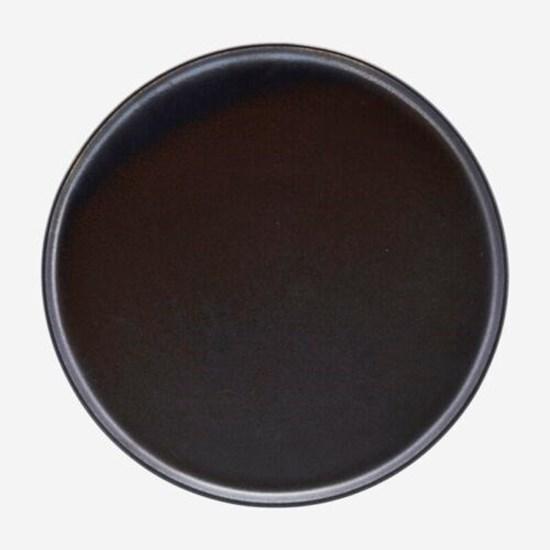 Obrázek z Talíř ATON 25,5 cm černý