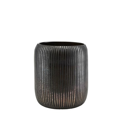 Obrázek Váza UTLA hnědo černá