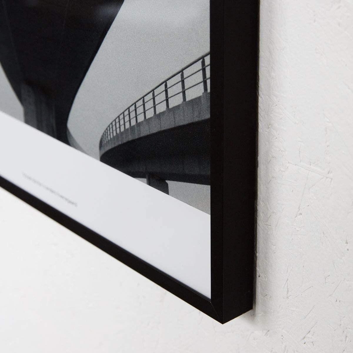 Obrázek z Obraz v rámu PROSPECTIONS 03 černý