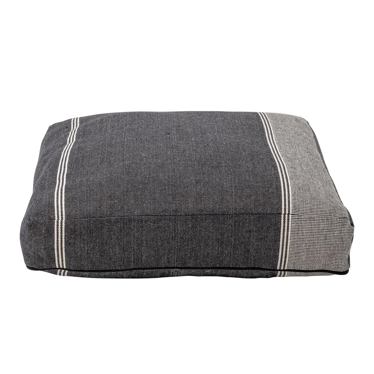 Sedací polštář Parian s výplní šedý_2