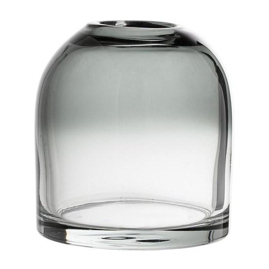 Skleněná váza Magrethe šedá_0