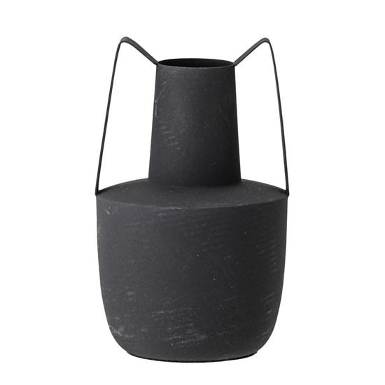 Kovová váza Itamar černá_4