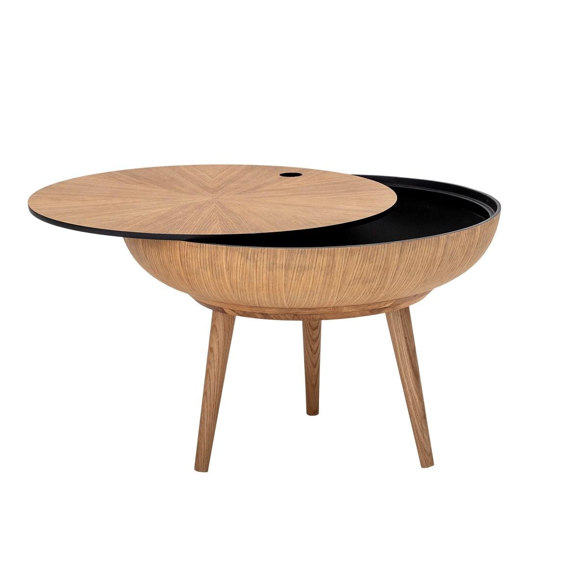 Konferenční stolek s úlož. prostorem Ronda dubový_0