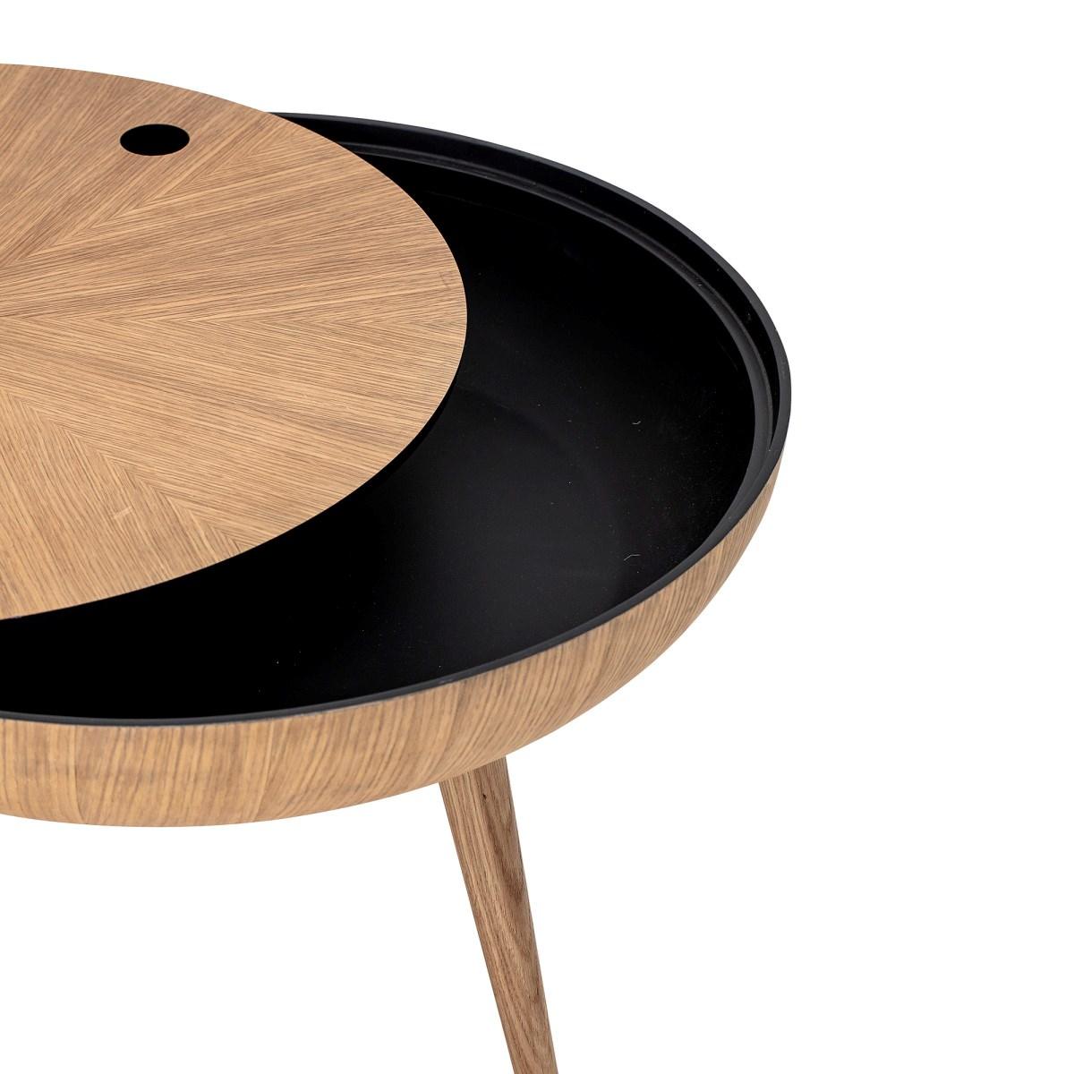 Konferenční stolek s úlož. prostorem Ronda dubový_4