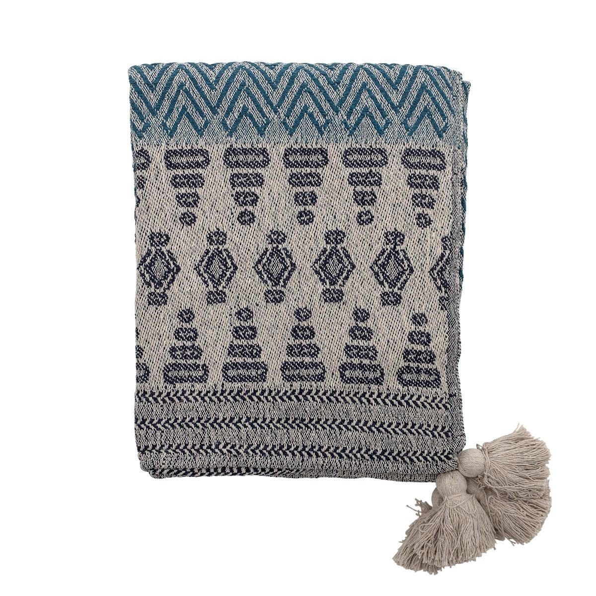 Pléd Milas z recykl. bavlny 160x130 cm_0