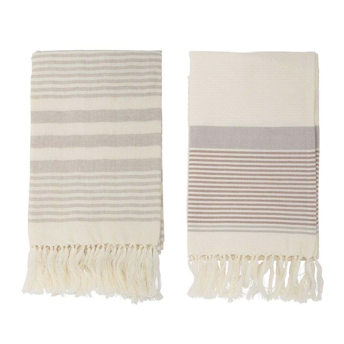 Bavlněný ručník 120x80 cm SET/2 ks šedý_0