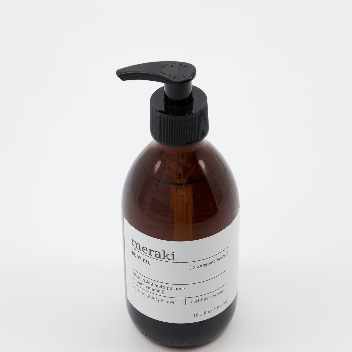 Obrázek z Multi olej na pokožku, odlíčení a vlasy ORANGE & HERBS 300 ml