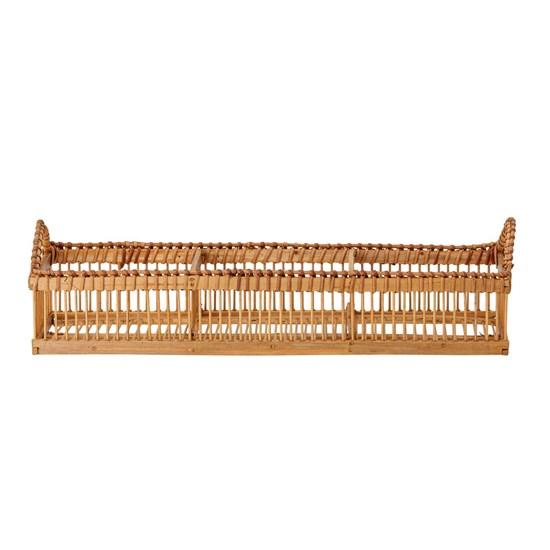 Odkládací koš / podnos s uchy Bamboo přírodní_3