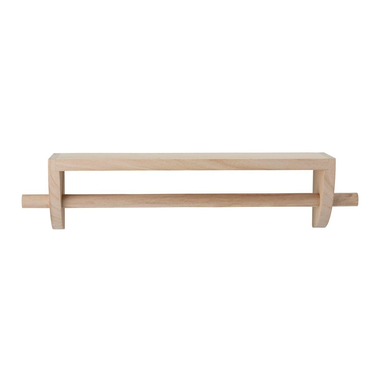Dřevěná police / věšák Mingus 60 cm_1