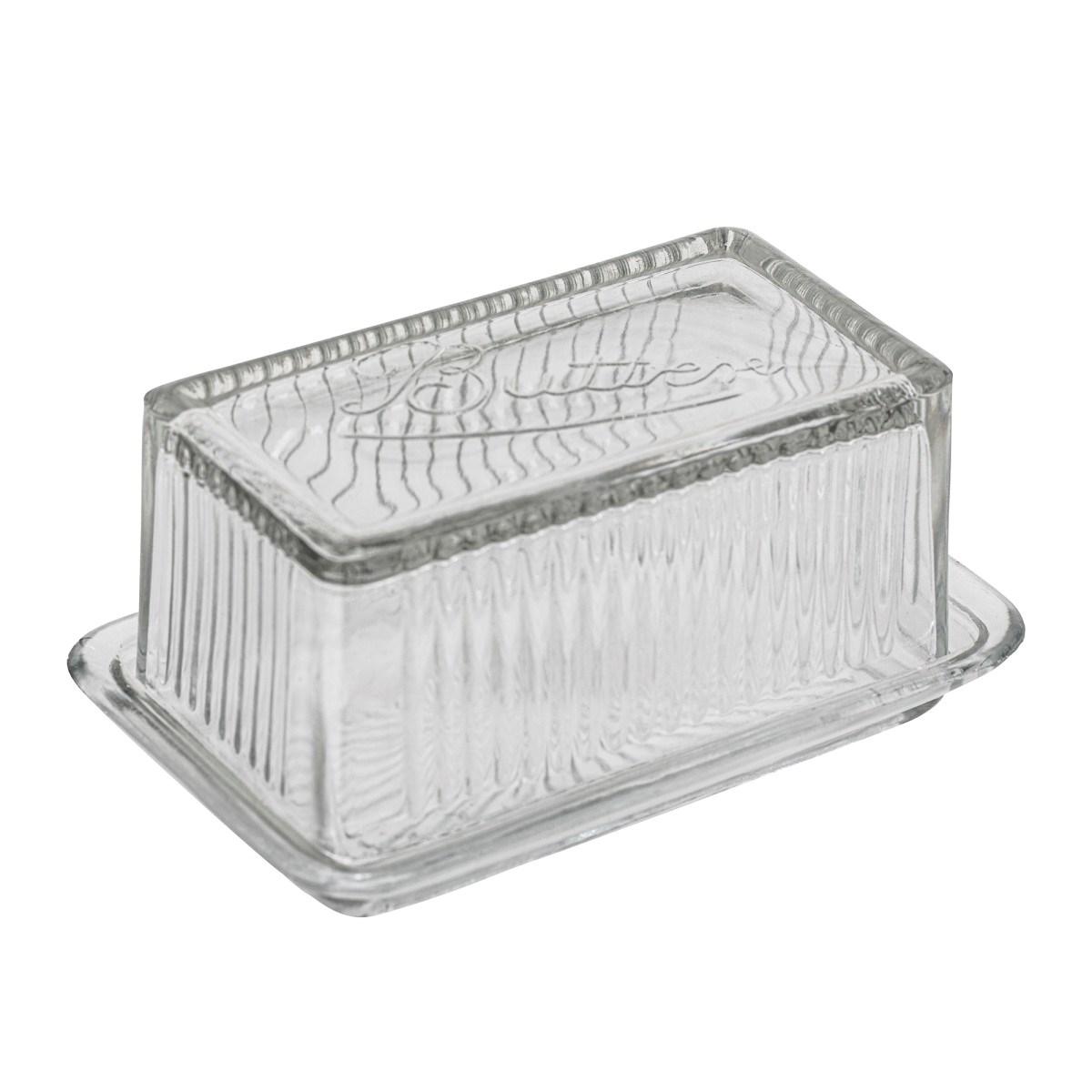 Dóza na máslo Navina z recyklovaného skla_1
