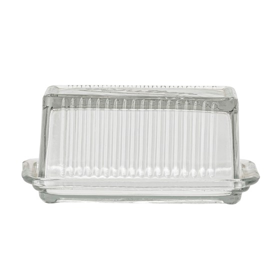 Dóza na máslo Navina z recyklovaného skla_2