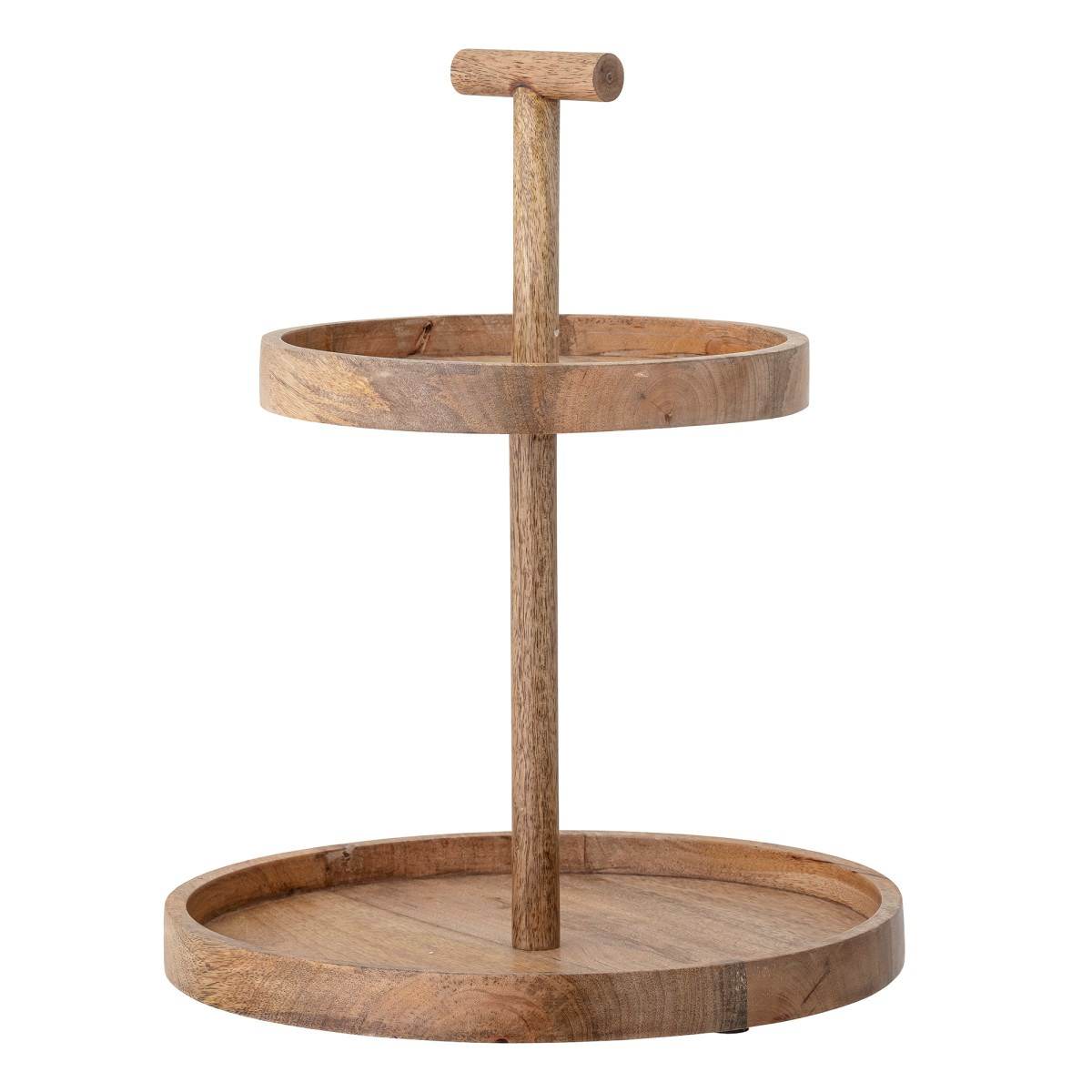 Etažér Bille 2-patrový dřevěný_0