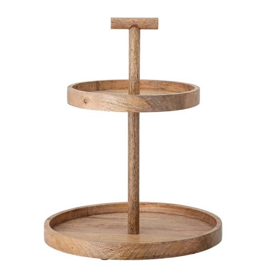 Etažér Bille 2-patrový dřevěný_2
