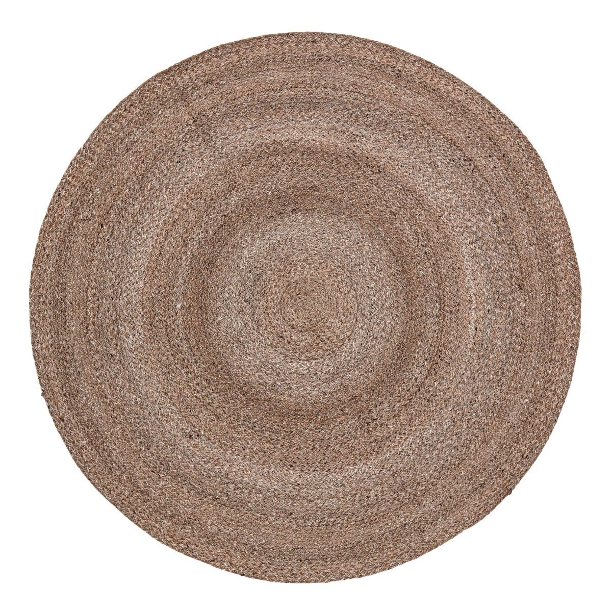 Kulatý koberec Iben přírodní_0