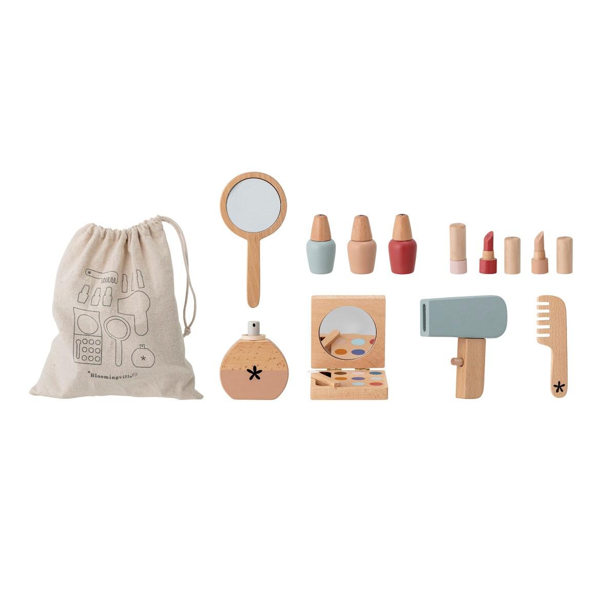 Dřevěná hračka / líčení Daisy Make-up SET/11 ks růžový_2