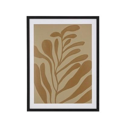 Obraz v rámu Vigy hnědý / černý 42x32 cm_4