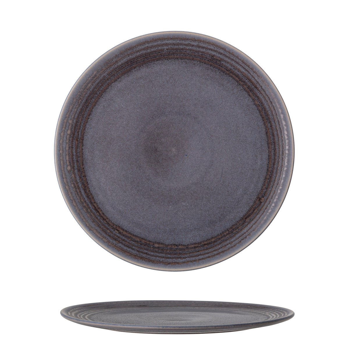 Talíř Raben 30 cm šedý kameninový_1
