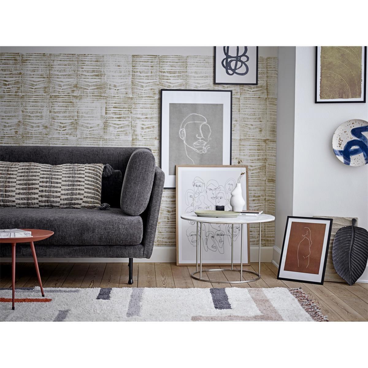Dřevěný dekorační podnos / tác Kylar hnědý_4