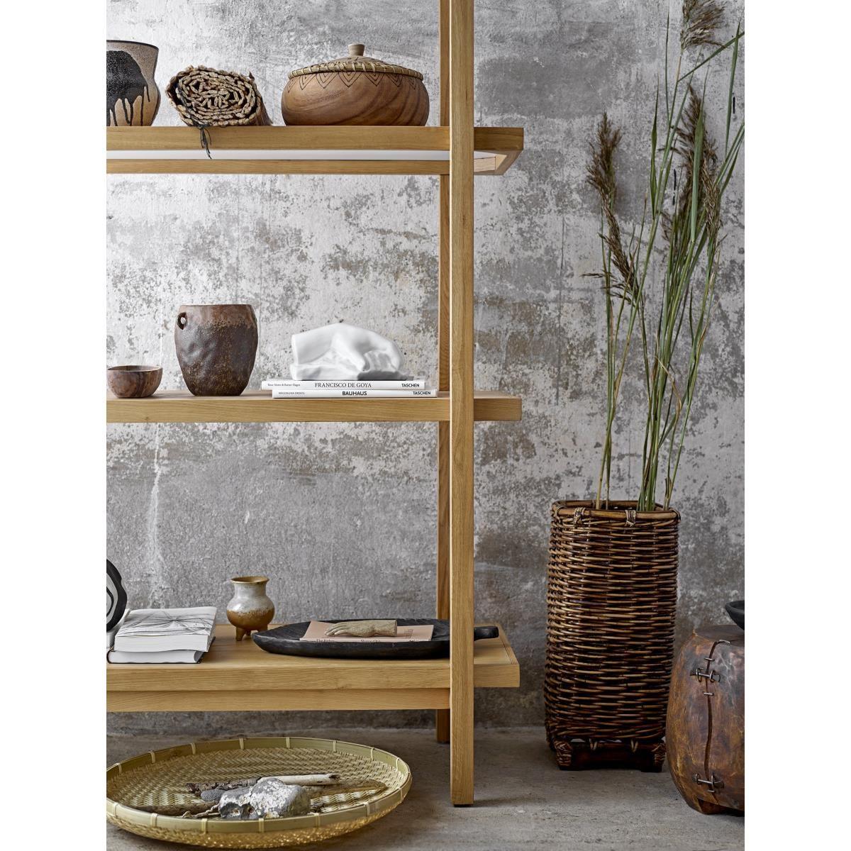Dřevěný dekorační podnos / tác Kylar hnědý_5