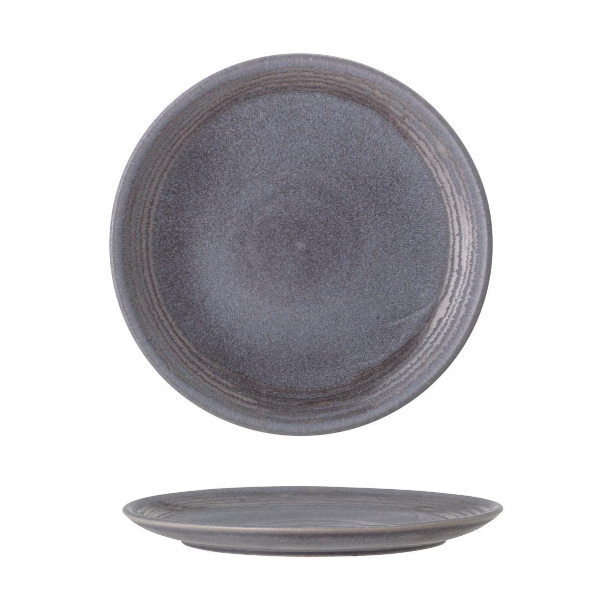 Dezertní talíř Raben 18 cm  šedý kameninový_1
