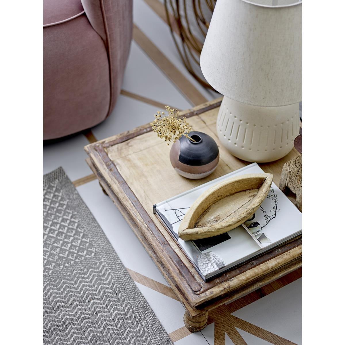 Tkaný koberec Emrah 180x120 cm šedý_1