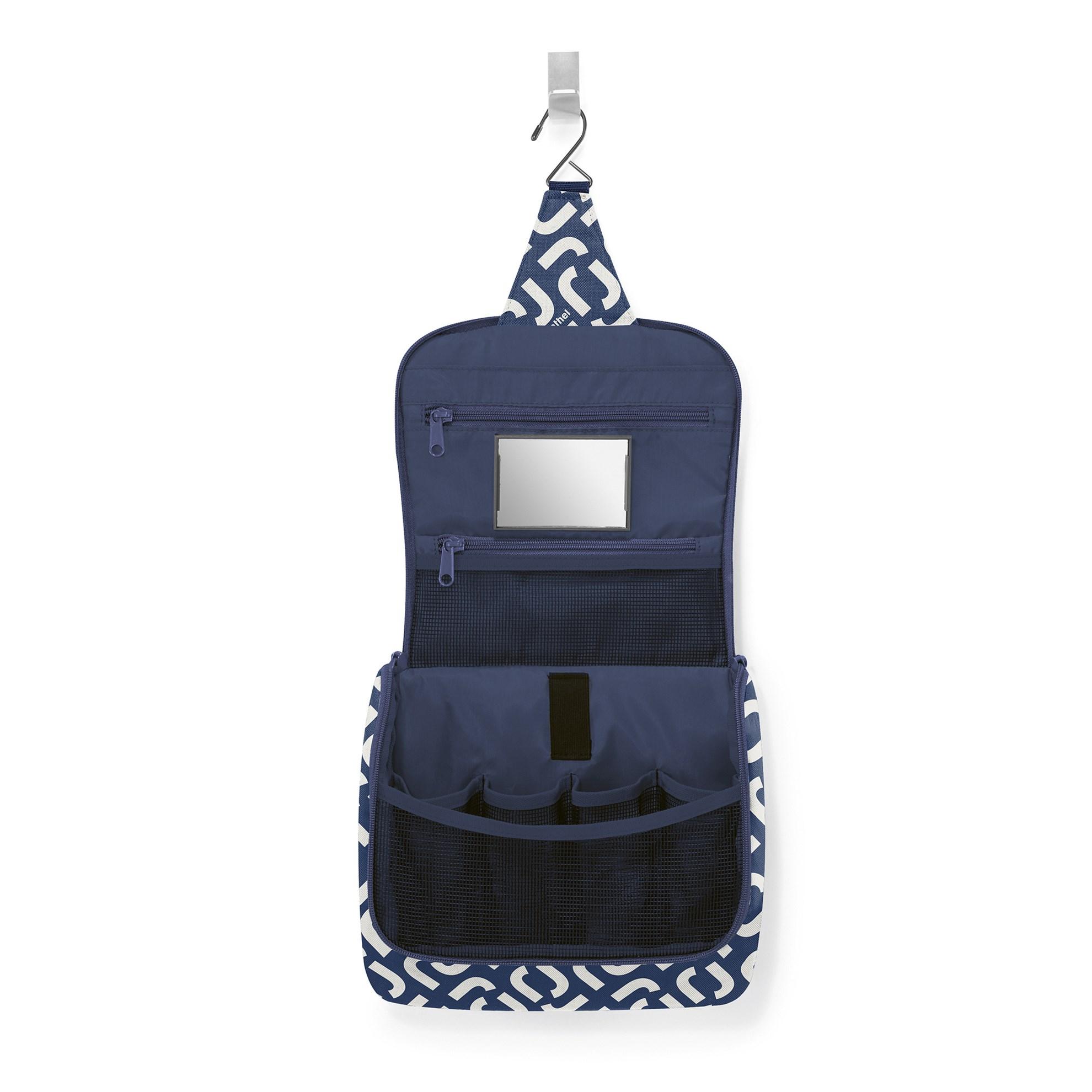Kosmetická taška Toiletbag signature navy_0