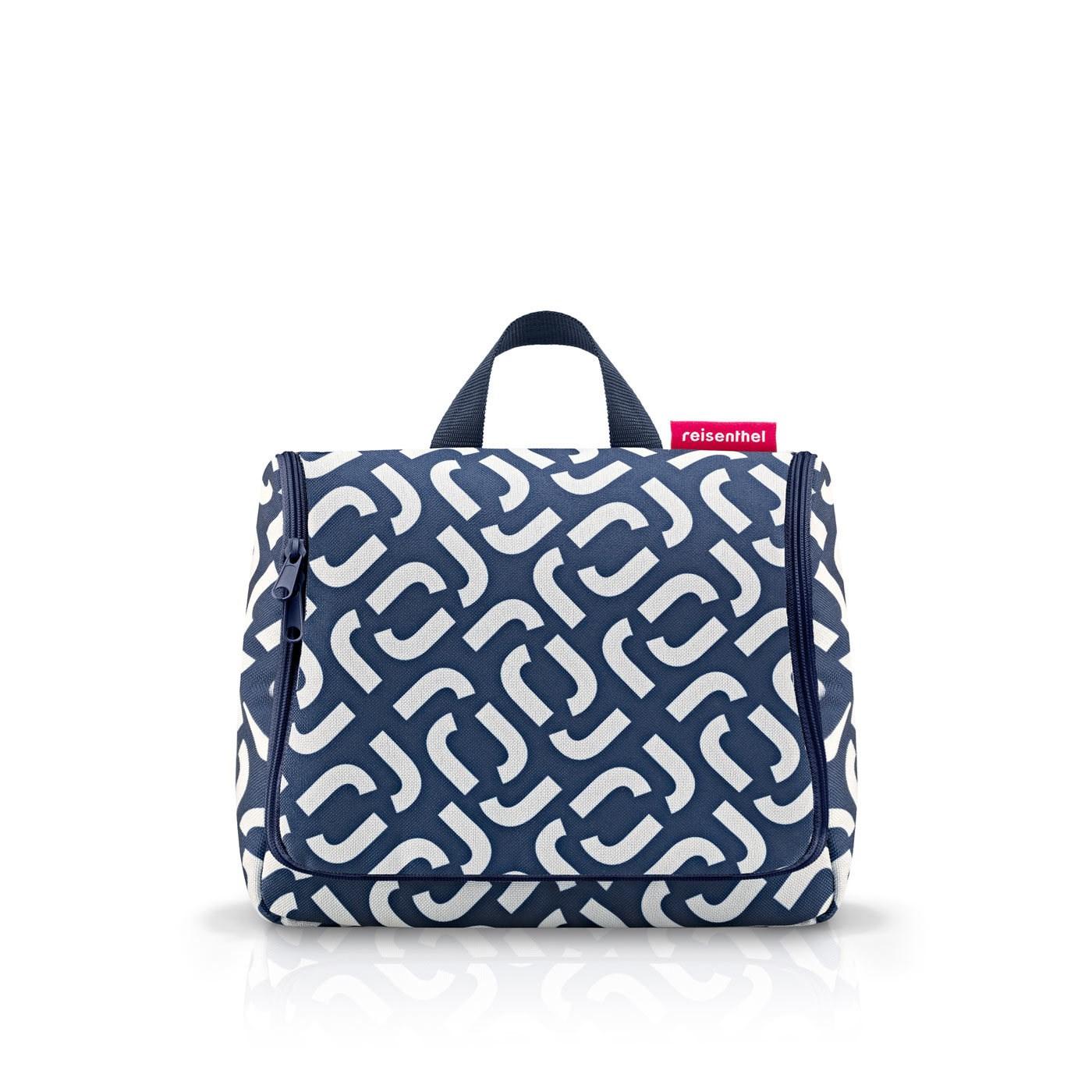 Kosmetická taška Toiletbag signature navy_1