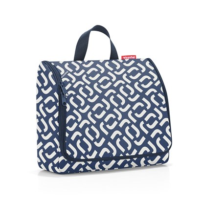 Kosmetická taška Toiletbag XL signature navy_2