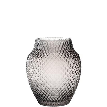 Váza POESIA šedá 23 cm_0