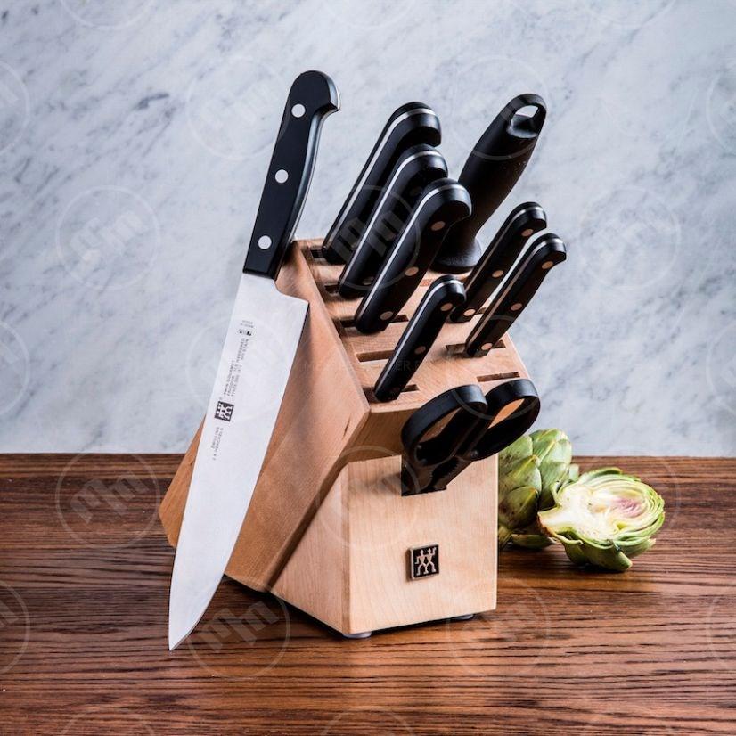Blok na nože na 9 ks_0