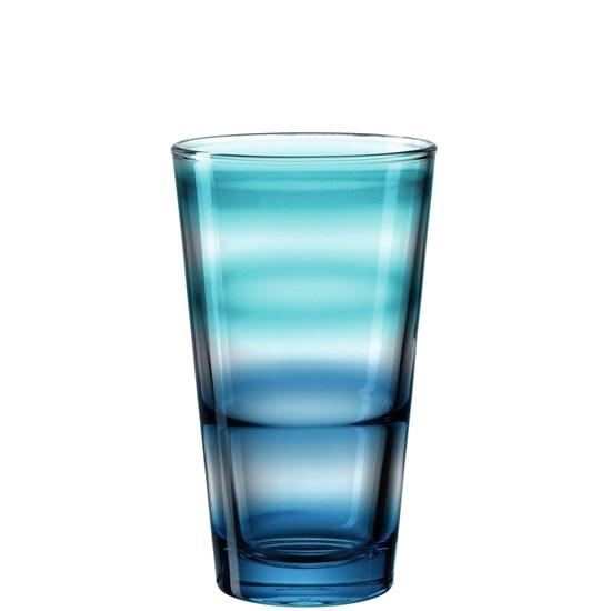 Sklenička na vodu RAINBOW  modrá 315 ml_0