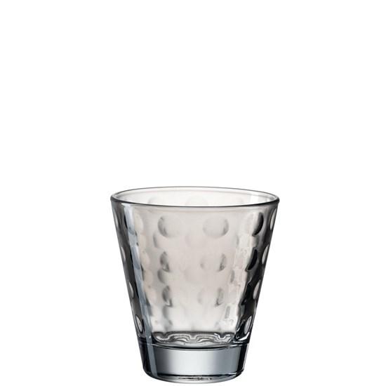 Sklenička na vodu OPTIC šedá 215 ml_0