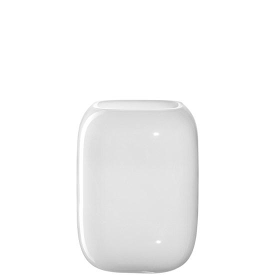 Váza MILANO  bílá 20x15x15 cm_0
