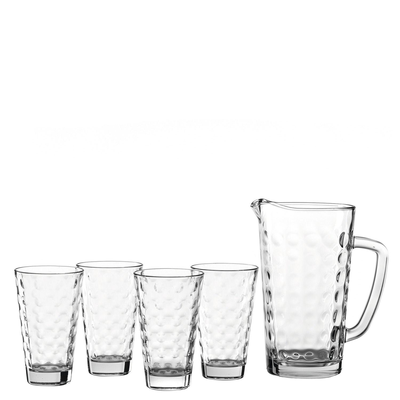 SET sklenice + džbán OPTIC SET/5ks_2