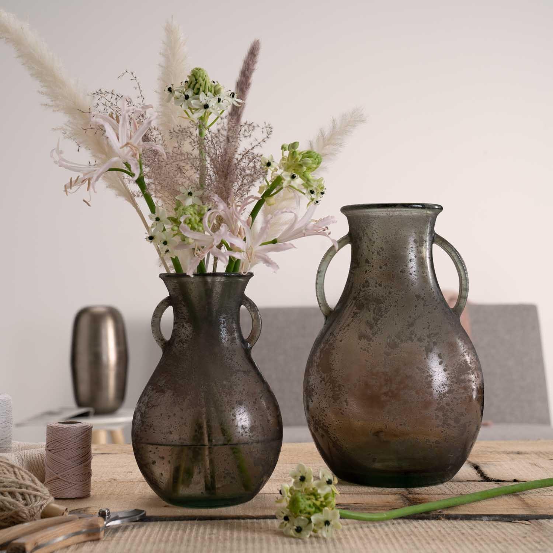 Váza CASOLARE hnědá 32 cm_0