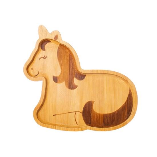 Bambusový talířek Unicorn_0