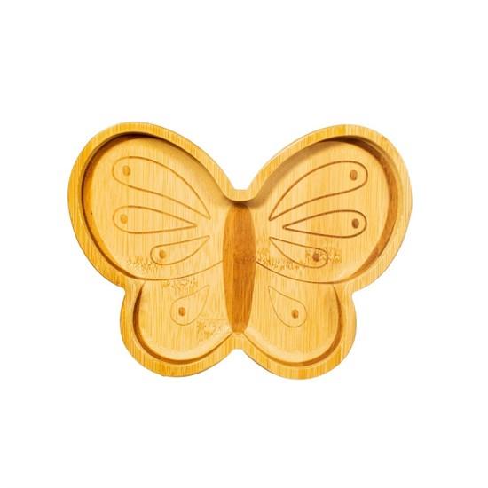 Bambusový talířek Butterfly_1