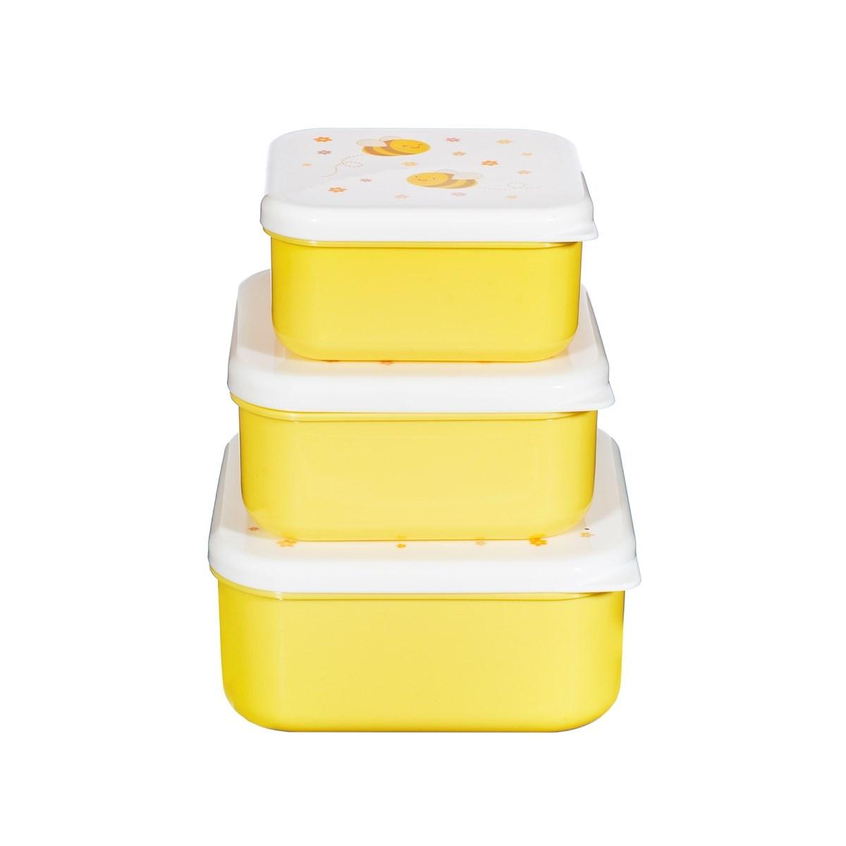 Box na svačinu/oběd Bee Happy SET/3ks_0
