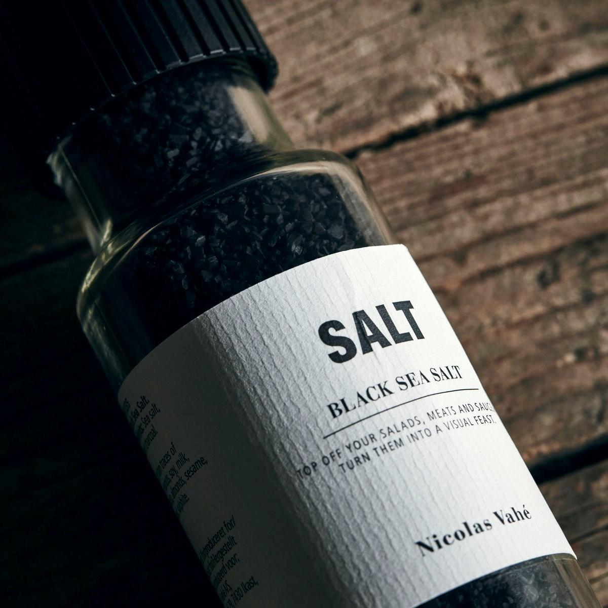 Sůl BLACK s aktivním uhlím 320g s mlýnkem_0