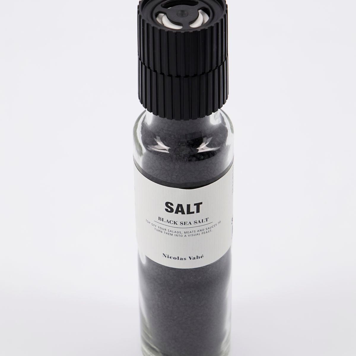 Sůl BLACK s aktivním uhlím 320g s mlýnkem_1