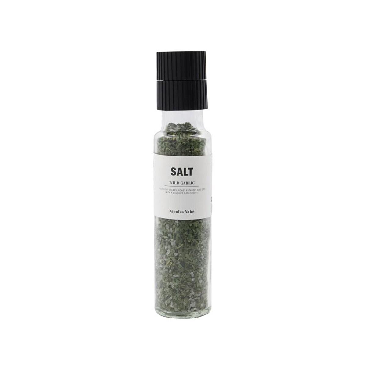 Sůl WILD GARLIC s medvědím česnek 215g s mlýnkem_0