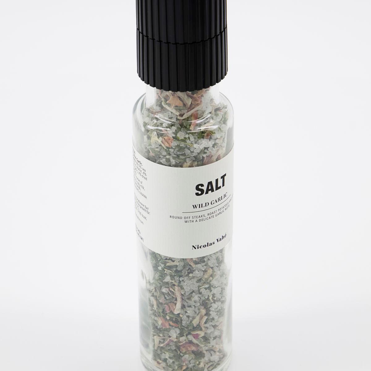 Sůl WILD GARLIC s medvědím česnek 215g s mlýnkem_1