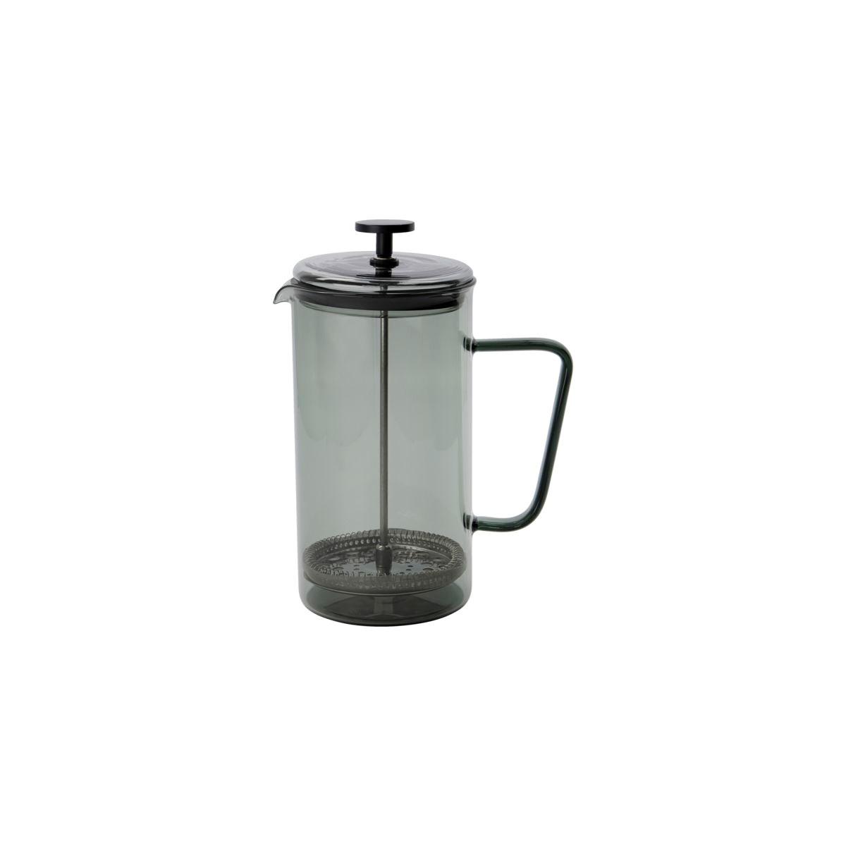 Konvice na čaj / kávu French press NURU kouřová 1 l_0