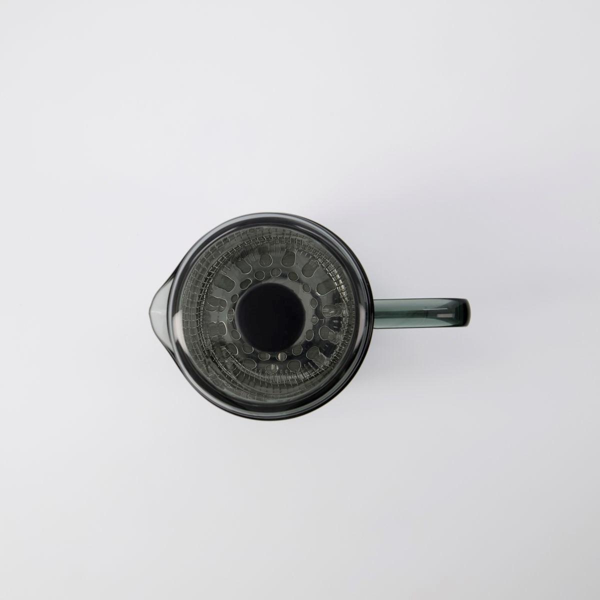 Konvice na čaj / kávu French press NURU kouřová 1 l_1