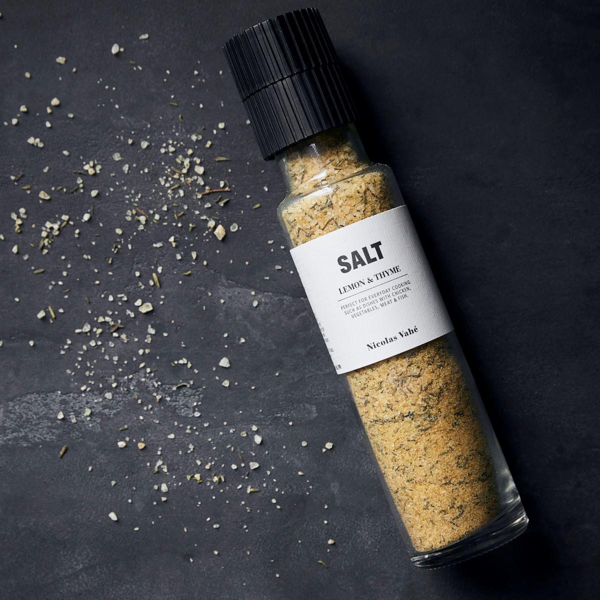 Sůl LEMON & THYME s citrónem a tymiánem 320g_1