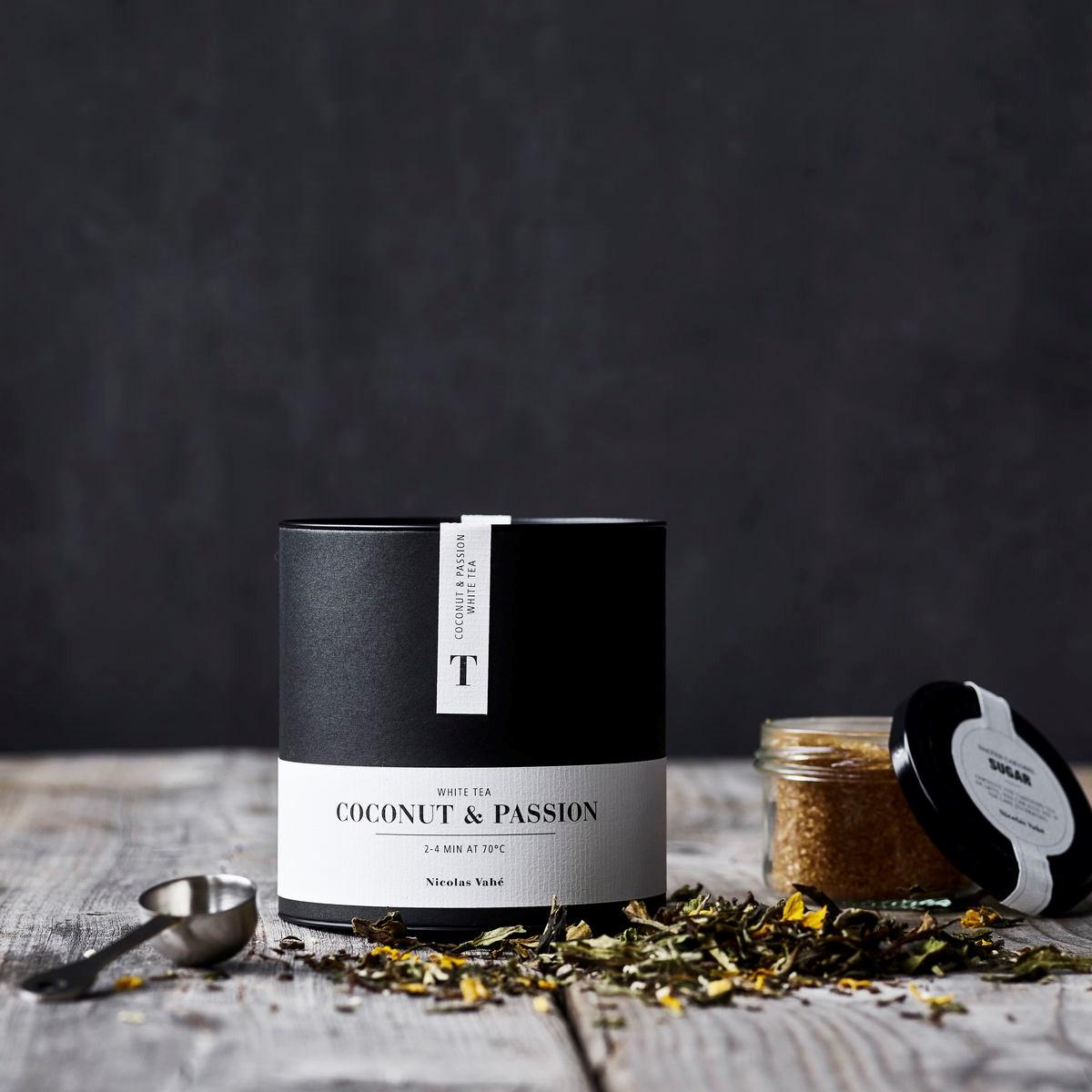 Bílý čaj COCONUT & PASSION s kokosem a marakuji 100g_0