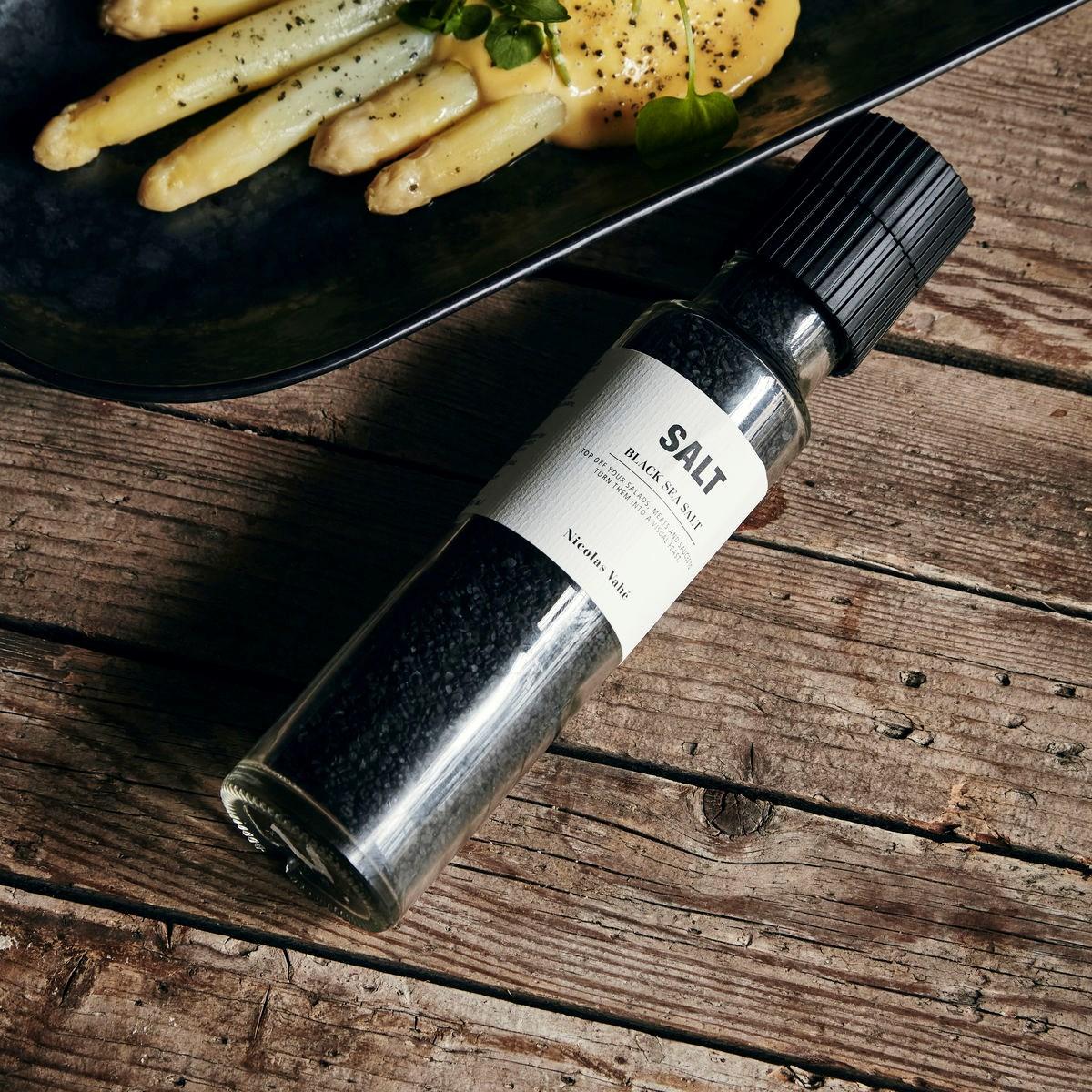 Sůl BLACK s aktivním uhlím 320g s mlýnkem_2