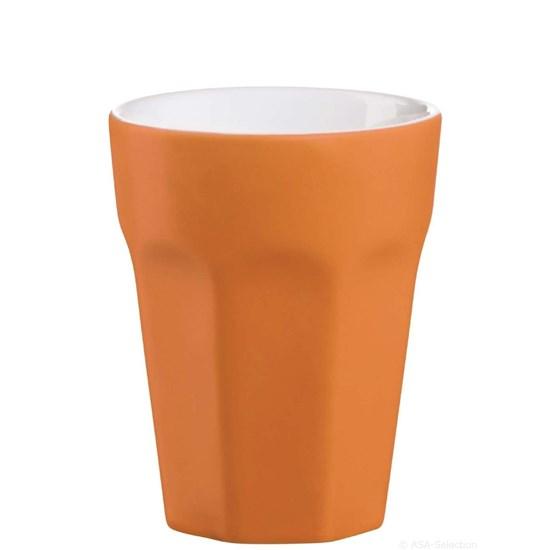 Hrnek na espreso - oranžová matná_0